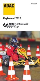 Reglement 2012 - ADAC Motorsport