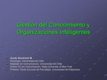 Organizaciones Inteligentes y Gestión del Conocimiento