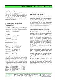 ENTEC 111/S ? Technische Information - pro-entec.de