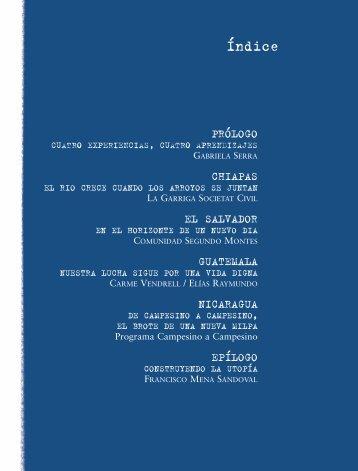 """Libro """"El ruido de la Milpa"""" 1ª parte - RedS"""