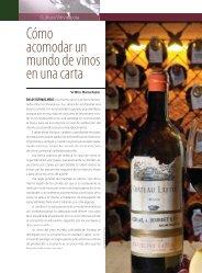 Cómo acomodar un mundo de vinos en una carta - Hospitalitas