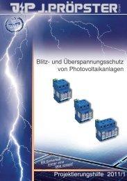 Blitz- und Überspannungsschutz von ... - Rex Elektro Kft.