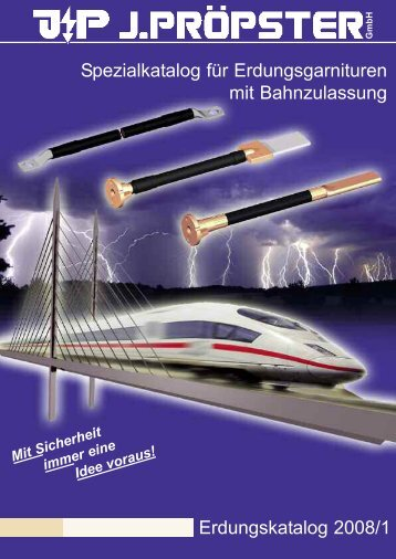 Erdungsgarnituren mit Bahnzulassung 2008.qxd - Rex Elektro Kft.