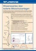 Isolierter Blitzschutz - J. Pröpster GmbH - Page 2