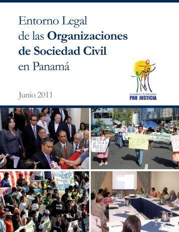 Entorno Legal de las Organizaciones de Sociedad Civil en Panamá
