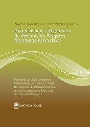 Organizaciones Regionales de Ordenación Pesquera RESUMEN ...