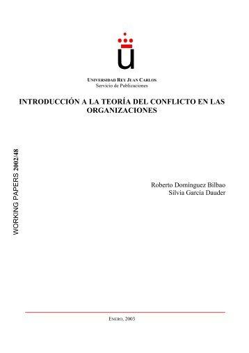 introducción a la teoría del conflicto en las organizaciones