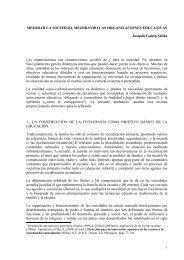 MEJORAR LA SOCIEDAD, MEJORANDO LAS ORGANIZACIONES ...