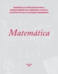 Caderno de orientação didática de: Matemática - Secretaria ...