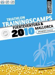 TRAININGSCAMPS - Professional Endurance Team