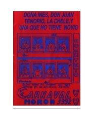 1992 DOÑA INES DON JUAN TENORIO - elcarnavaldemoron.es