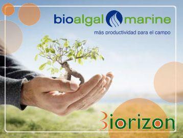 más productividad para el campo - Biorizon Bioalgal Algafert es