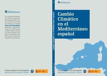 Libro: Cambio climático en el Mediterráneo español - El Instituto ...