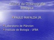 1.1 Introducao a Oceanografia Biologica - Unifap