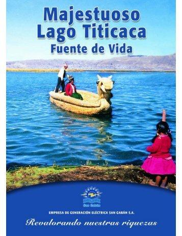 ii datos de interes sobre el lago titicaca - San Gabán SA
