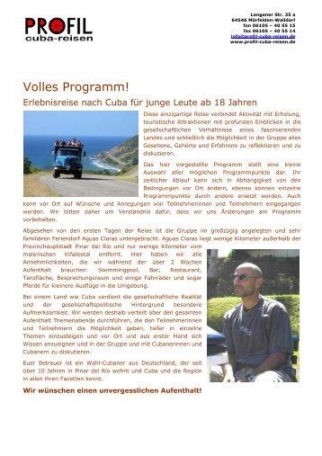Profil-Cuba-Reisen GbR (Gaby Schmitz, Christoph Herrmann und ...