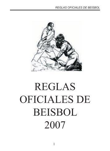 Reglas Oficiales de Béisbol