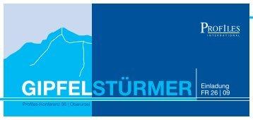 GIPFELSTÜRMER - Profiles GmbH
