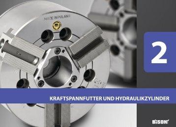 kraftspannfutter und hydraulikzylinder - Profimaschinen.de