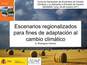 Escenarios climáticos de cambio climático: incertidumbres y certezas