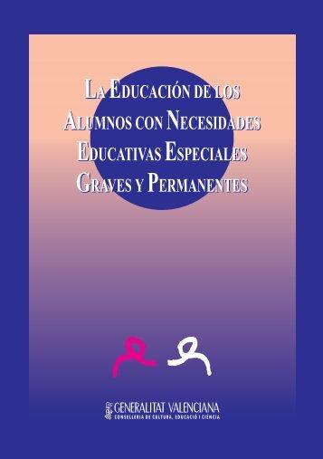 La educación de los alumnos con necesidades educativas ...