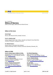 pdf-fulltext (1.349 KB) - International Review of Information Ethics