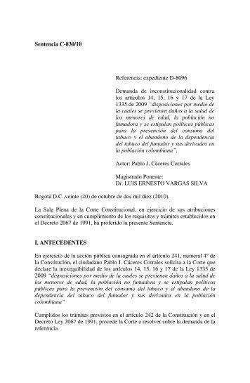 SENTENCIA C 271 DE 2003 EBOOK DOWNLOAD