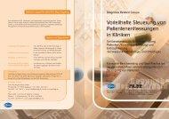 Folder Patientenentlassung BM - Prof. Riegl & Partner GmbH