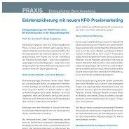 KFO IG Praxis Marketing Benchmarking FB ProfRiegl