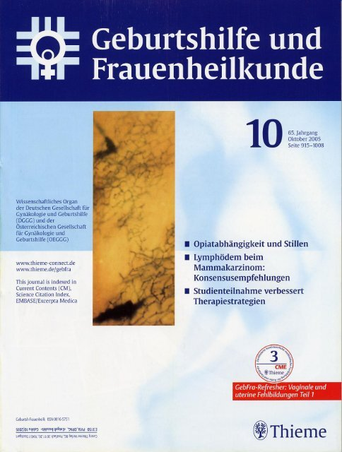 Artikel Thieme - Prof. Riegl & Partner GmbH