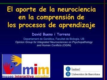 Charla Doctor David Bueno - Mim