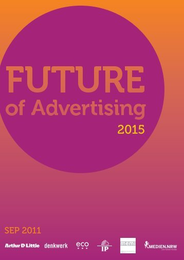 The Future of Advertising 2015 - Eco