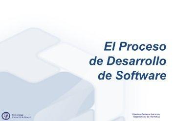 1 - El Proceso de Desarrollo de Software - OCW - UC3M