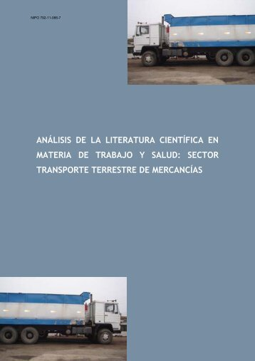 análisis de la literatura científica en materia de trabajo y salud
