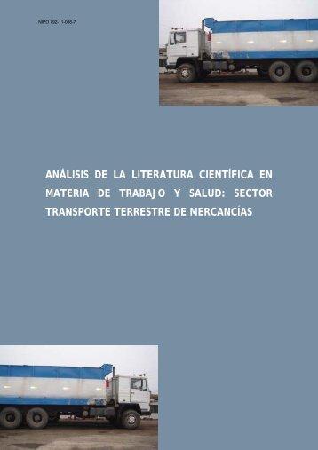 análisis de la literatura científica en materia de trabajo y salud
