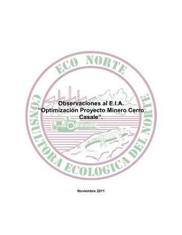 Observación - SEA - Servicio de evaluación ambiental