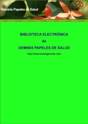 Electroneurobiología - Géminis Papeles de Salud