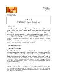 INTRODUCCIÓN AL LABORATORIO - Departamento Estrella Campos