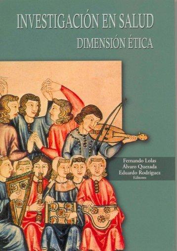 Investigación en Salud. Dimensión Ética - Publicaciones Acta ...