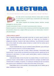 Lectura 1 - CEIP Juan Jaén