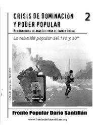 Con sus prácticas militantes y sus actividades de - Frente Popular ...