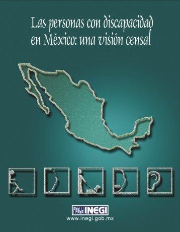 Las personas con discapacidad en México: una visión censal - Inegi