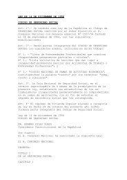 ley de seguridad social - Ministerio de Salud y Deportes de Bolivia