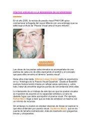POETAS VISUALES A LA BUSQUEDA DE SU IDENTIDAD - Boek 861