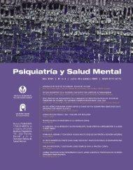descargar nº 3-4 / 2009 - Sociedad Chilena de Salud Mental