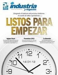 Edición Noviembre 2011 - Revista Industria y Negocios – CIG