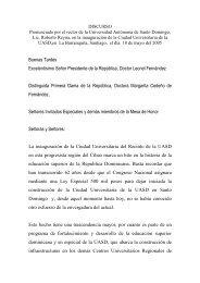 DISCURSO INAUGURACION CURSA 18 de mayo ... - Roberto Reyna