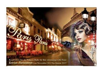 Reservieren Sie die Palazzo Halle für Ihre stimmungsvolle Feier ...