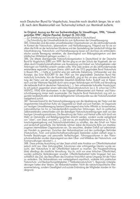 2 Geschichte der Umweltbewegung 2.1 ... - Projektwerkstatt