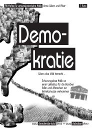 Demokratie - Projektwerkstatt
